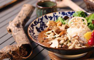 きの子&薩摩鶏のスパイシーカレー1480